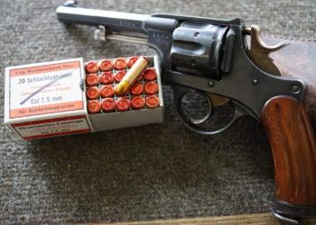 Revolverschiessen